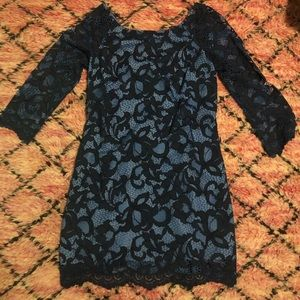Lilly Pulitzer lace dress, size 8.